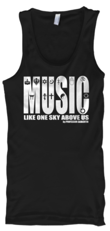 Tank top music like one sky