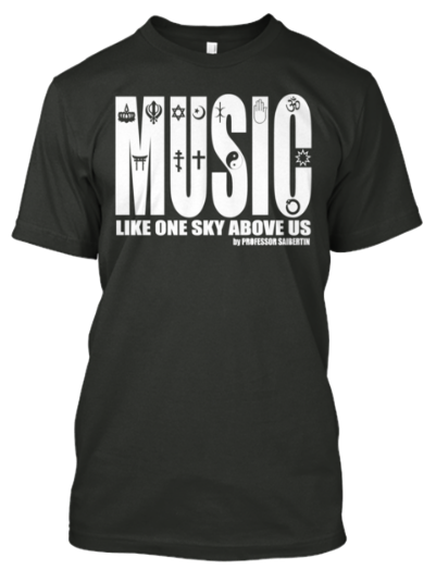 Tshirt Music Like One Sky Above Us